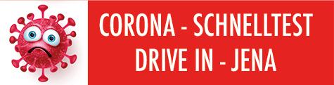 Corona Schnelltest Drive in Jena